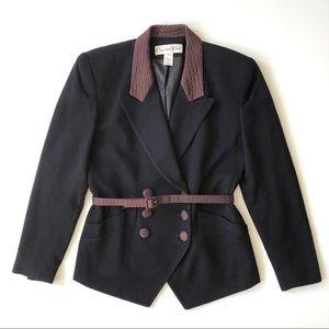 Christian Dior vintage navy jacket